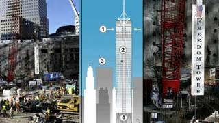Freedom Tower's first column laid