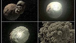 Earth's Moon a rare species
