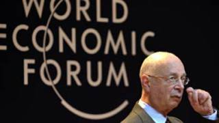 'Don't shun bankers: they're part of the solution', says Davos chief