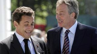 Tony Blair set to become EU chief as Sarkozy battles to win him the post