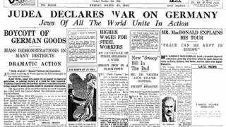 Judea Declares War on Germany: A Critical Look at the Holocaust and WWII