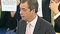 MEP Nigel Farage Reprimanded For Exposing EU Dictatorship