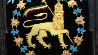 Haile Selassie I - Knight of the Order of the Seraphim