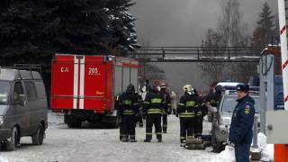 Russian nuclear facility fire poses no risk?