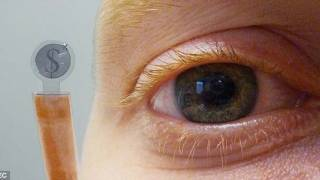 Eye phone! The contact lens that can receive your text messages