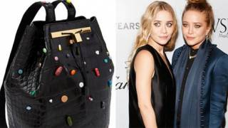 Big Pharma is Trendy and Cool: Olsen Twins' Designer Bag Covered in Drugs