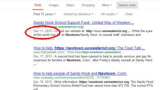 Sandy Hook fundraising relief page created 3 days before shooting