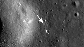 Chinese Jade Rabbit Sighted on Moon by NASA