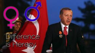 "Gasp, Turkish President Observes Reality: ""Women and Men Created Differently"""