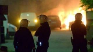 Firebombs Thrown at Police in Stockholm Riot