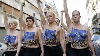 Who pulls the strings of Femen and Pussy Riot?