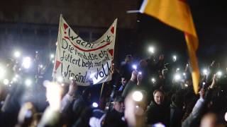Germans take to the streets to protest against 'Islamisation'