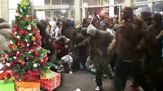 America's Newest Christmas Tradition: Black Mob Violence at Malls
