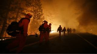 Are terrorists setting U.S. wildfires?