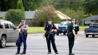 Three police officers shot dead in Baton Rouge, mayor says