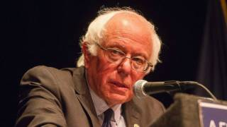 Left-Wing Supporters Boo as Bernie Sanders Says 'We Must Elect Hillary Clinton'