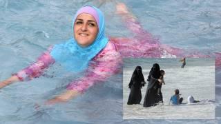 Burkini-only pool party at French water park sparks outrage