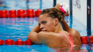 In vilifying Russian swimmer Yulia Efimova, Americans are splashing murky waters