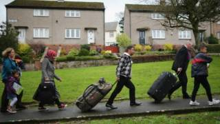 Syrian refugees resettled on remote Scottish island of Bute complain their new home is 'full of old people waiting to die'