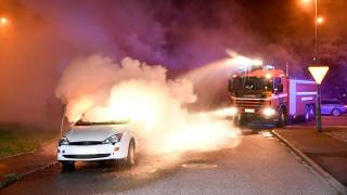 Sweden's summer spate of car fires continues