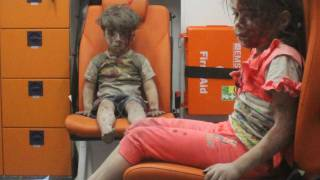 Syrian boy's image shamelessly exploited for West's war agenda