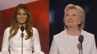 Black Fashion Writer: Melania in White 'Scary' Racist, Hillary in White 'Hopeful'