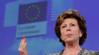 Neelie Kroes under fire after leak reveals offshore business