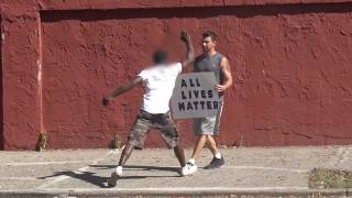 Social Experiment: Black Lives Matter vs All Lives Matter, Reactions