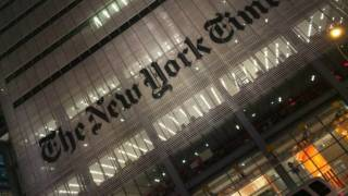 The New York Times didn't pay taxes in 2014, yet report Donald Trump is a criminal for doing the same thing
