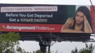 Billboard in Texas Encourages Women to 'Get a Sugar Daddy'