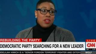 CNN's Sanders: 'We Don't Need White People Leading the Democratic Party Right Now'