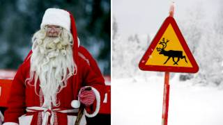 Santa Claus Should Live in Sweden, Researchers Calculate