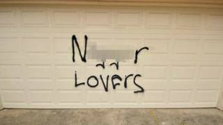 Texas Hate Hoax: Man Writes 'N–gger Lovers' on His Own Home