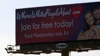 'Where White People Meet' dating site billboard turning heads in Utah