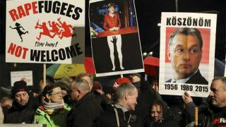 Europe Refugee Crisis: Germany Arrests Right-Wing Protesters In Germany Amid High Tensions
