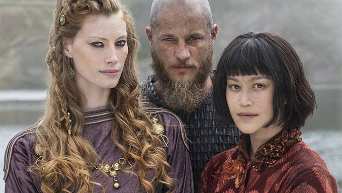 history channel s vikings gives ragnar lodbrok a new spicy exciting