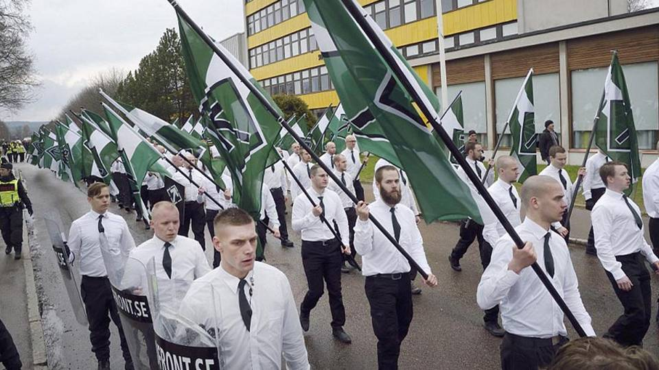 Image result for Nordic Resistance Movement  sweden