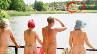 German nudists told to cover up as asylum seekers home opens near skinny-dipping lake