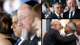 Sadiq Khan Attends Holocaust Memorial as First Official Mayoral Act
