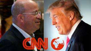 "CNN's Top Jew Threatens Trump: ""We Shape Your Image"""