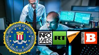 "FBI probing ""far-right news sites"" RT, Sputnik, InfoWars"