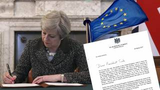 'No turning back' on Brexit as Article 50 triggered