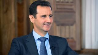 "Assad: ""The US is hand & glove with terrorists. They fabricated the whole story to have a pretext for attack."""