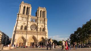 Suspect Shot and Wounded after Attacking Police Outside Notre Dame Cathedral