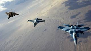 US-led Coalition Downs Syrian Army Plane in Southern Raqqa
