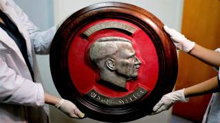 Hitler Busts Among Nazi Relics Found in Secret Room in Argentina