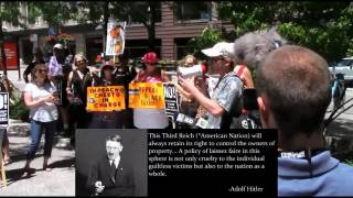 Antifa, Anti-Trump Sheep Blindly Applaud Speech of Hitler Quotes