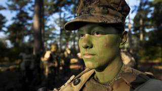 Marine Corps to Mix Men and Women in Combat Training