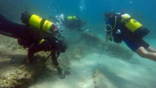 Archaeologists Discover Ancient Sunken City in the Mediterranean
