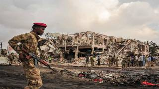 Death Toll Tops 200 in Pair of Somalia Blasts